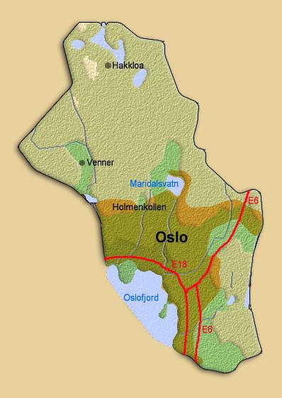 oslo fylke Åkrehamn